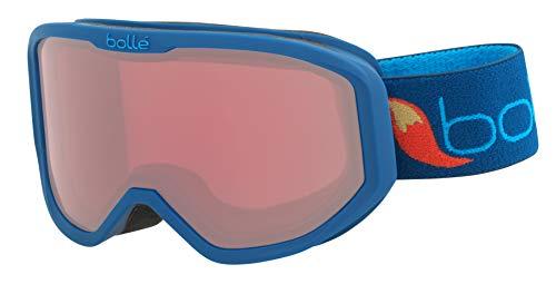 bollé Inuk Snow Goggles Matte Blue Fox Vermillon Unisex-Baby Extra Small