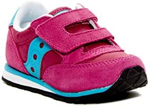 Saucony Running Shoes for Girls, Size 10 US, Pink & Blue - ST53513
