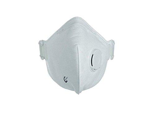 CleanAIR Mascherina Respiratoria FFP3, con Valvola, Confezione 10 Pezzi 25671
