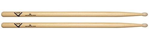 - Vater 5B Nylon Tip Hickory Drum Sticks, Pair