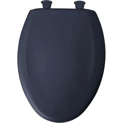 Bemis 1200SLOWT 374 Slow Close Sta-Tite Elongated Closed Front Toilet Seat, Rhapsody Blue by Clauss (Rhapsody Tools)