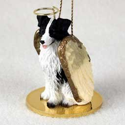 Conversation Concepts Border Collie Pet Angel Ornament