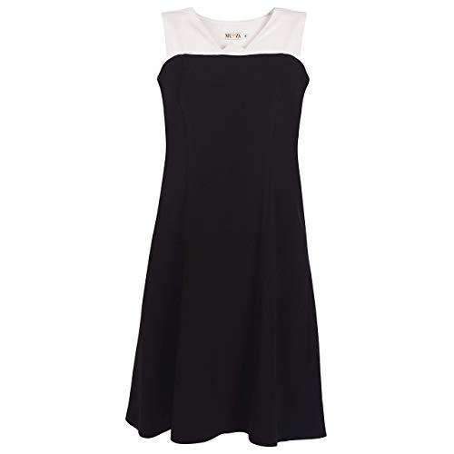Womens Midi Dress - Black & White || Attractive - Sleeveless Midi Dress for women party wear outfit || Custom Handmade Gift for Wedding Festival Occasion Anniversary Graduation