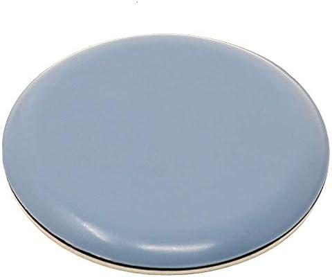 Feltrini in ptfe autoadesivi Ø mm grigio azzurro