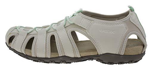 Femme Blanc Ivoire Sandales Pour Geox qpxOtwzEz