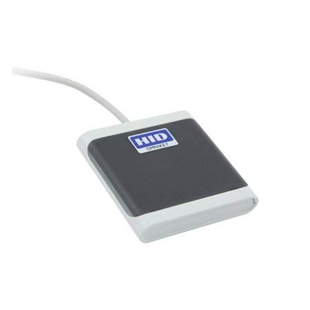 HID Omnikey 5022 CL Contactless USB Reader (Grey)