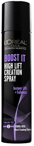 L Oreal Advanced Hairstyle Boost It High Lift Creation Spray Strong Hold 5.30 oz Pack of 4