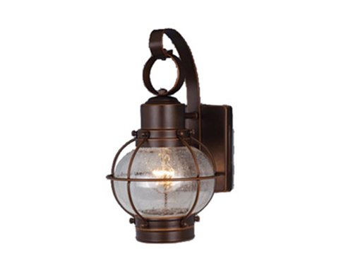 Vaxcel OW21861BBZ Chatham 7-Inch Outdoor Wall Light, Burnished Bronze Review