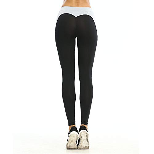 Ash Forma Pantaloni Allenamento Leggings Per Fisica Yoga Alta Da ashDimensione Donna Ash Vita ElasticizzaticoloreDeep LBlack deep Di A Cuore 4LAR3j5