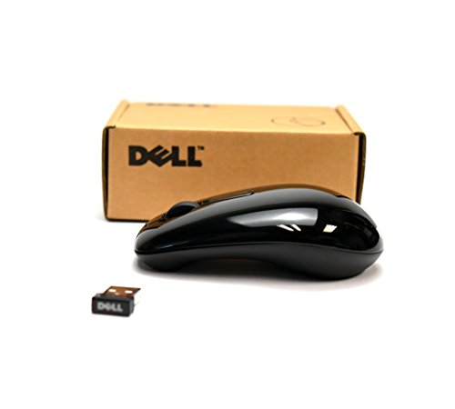 Dell Cordless Mouse - Genuine Dell Inspiron 1010 RF Mouse Kit 111983 (No Batteries) Model WM311 Radio Frequency Wireless Black Mouse w/Receiver Dongle Set 03YXN2 N8R5R DP9W3 67JGG RWH6C
