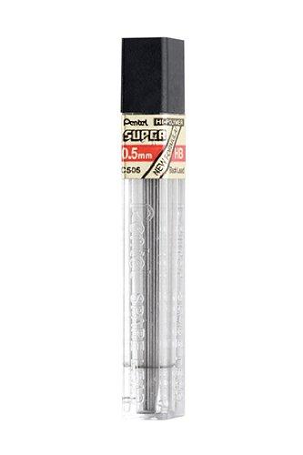 Pentel C505-HB - HB Refill Leads 0.5mm C50.5-HB PK12