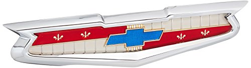 Chevrolet Trunk Emblem - Trim Parts 1024 Full Size Trunk Emblem Assembly (1955 Chevrolet)