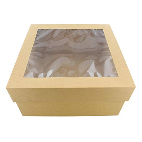 SpecialT | Cake Boxes with Window 25pk 12