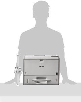 Ricoh SP 4510DN - Impresora láser (PCL 5e, PCL 6, Ethernet, USB 2.0, 1200 x 1200 dpi, A4, LED, 50/60): Amazon.es: Informática
