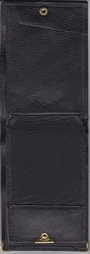 Righe Similpelle 5x Nero In Uomo Portafoglio portassegni 77wRYq4