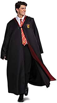 Harry Potter Robe, Deluxe Wizarding World Hogwarts House Themed Robes for Adults, Movie Quality Dress Up Costu