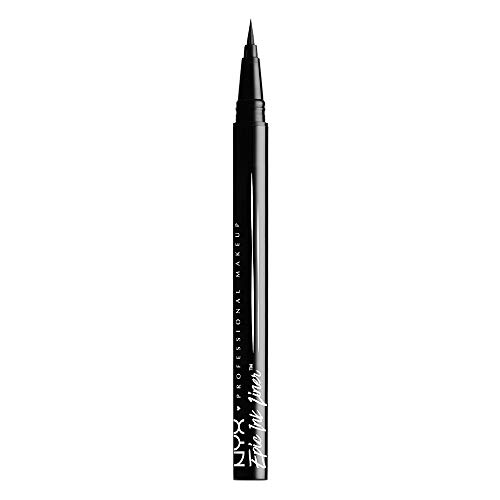 NYX PROFESSIONAL MAKEUP Epic Ink Liner, Waterproof Liquid Eyeliner, Black (Best Liquid Foundation Allure)