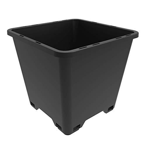 Trade 7 Gallon, Re-usable Square Nursery Pot, Case of 5