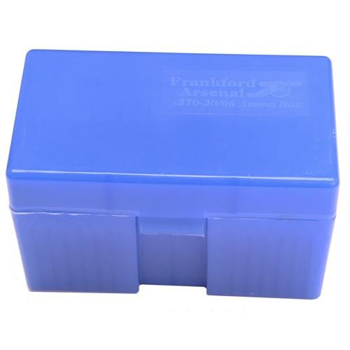 Frankford Arsenal 270-30/06 Ammo Box (50 Count), Blue