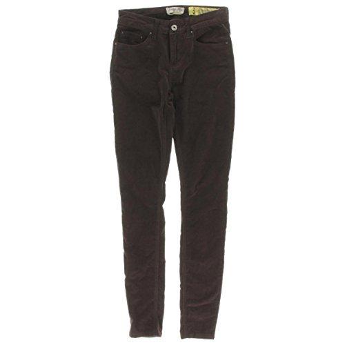 Indigo Ribbed Jeans - Indigo Rein Womens Corduroy Ribbed Skinny Pants Brown 3