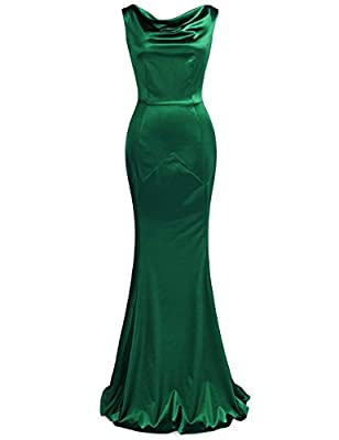 MUXXN Women's 30s Brief Elegant Mermaid Evening Dress