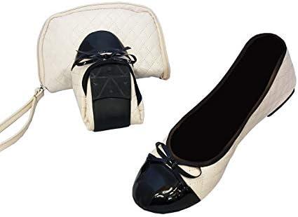 Foldable Shoes for Women Ballet Flats