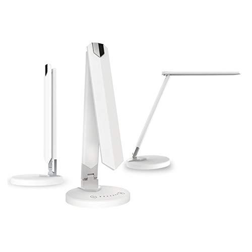 LEDmaxx 8-W-LED-Schreibtischleuchte mit einstellbarer Lichtfarbe, dimmbar, weiß