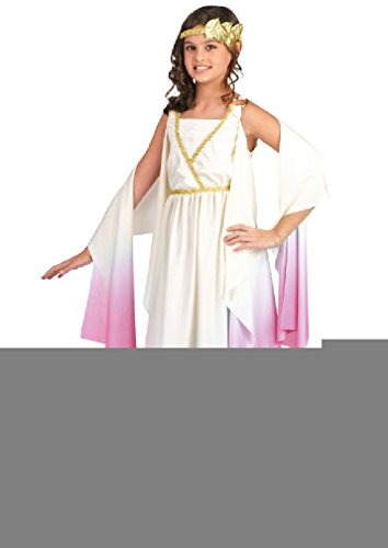 [8eighteen Athena Greek Goddess Child Halloween Costume] (Athena Greek Goddess Costume Child)