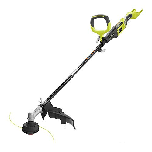 Ryobi 40-Volt Lithium-Ion Cordless String Trimmer - Bare Tool RY40202 - (Bulk Packaged) (Renewed)