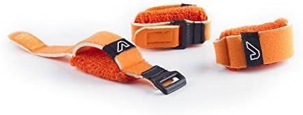 Medium Orange GruvGear Orange Medium Set de 3 att/énuateurs//sourdines de cordes