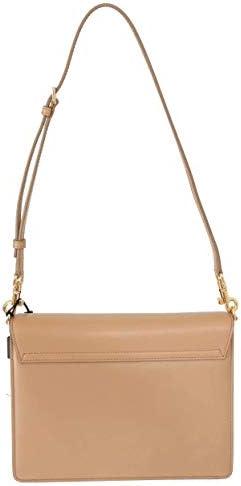 Dolce&Gabbana femme Lucia sac porté épaule beige