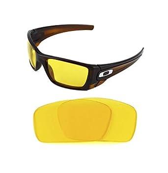 d20e4d98e34 NEW POLARIZED CUSTOM NIGHT VISION LENS FOR OAKLEY FUEL CELL SUNGLASSES   Amazon.co.uk  Clothing