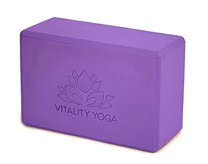 Amazon.com: Bloque de yoga espuma de: Eco-Friendly firme ...