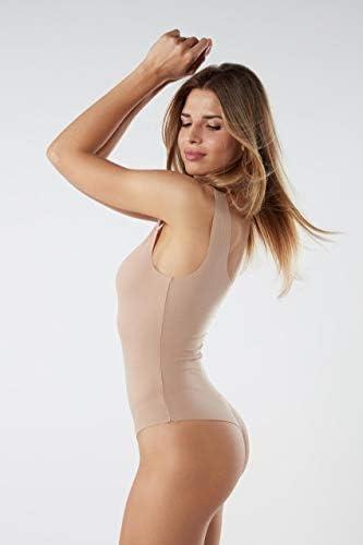 Intimissimi Femme Body /à Col /Échancr/é en Coton Supima/®