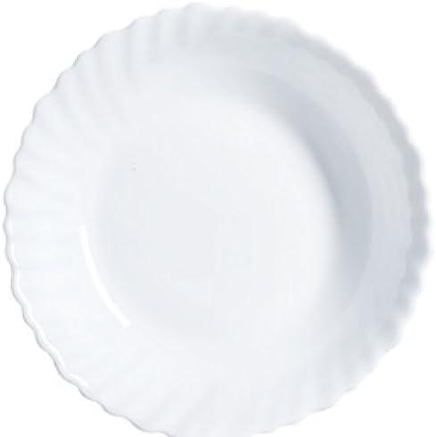 Bianco Vetro Dajar insalatiera Feston 18/cm cm
