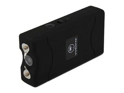 VIPERTEK VTS-880 - 35,000,000 V Mini Stun Gun - Rechargeable with LED Flashlight, Black