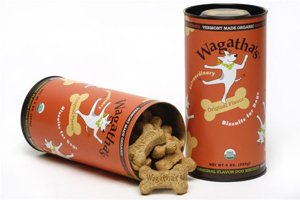"Wagathas Organic Cranberry Cheddar Biscuits Wheat Free - ""With a Hint of Mint"
