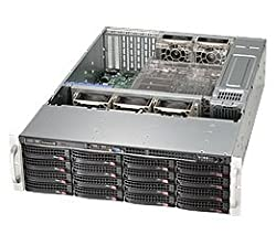 Supermicro CSE-836BE26-R920B Supermicro SuperChassis CSE-836BE26-R920B 920W 3U Rackmount Server Chassis -Black