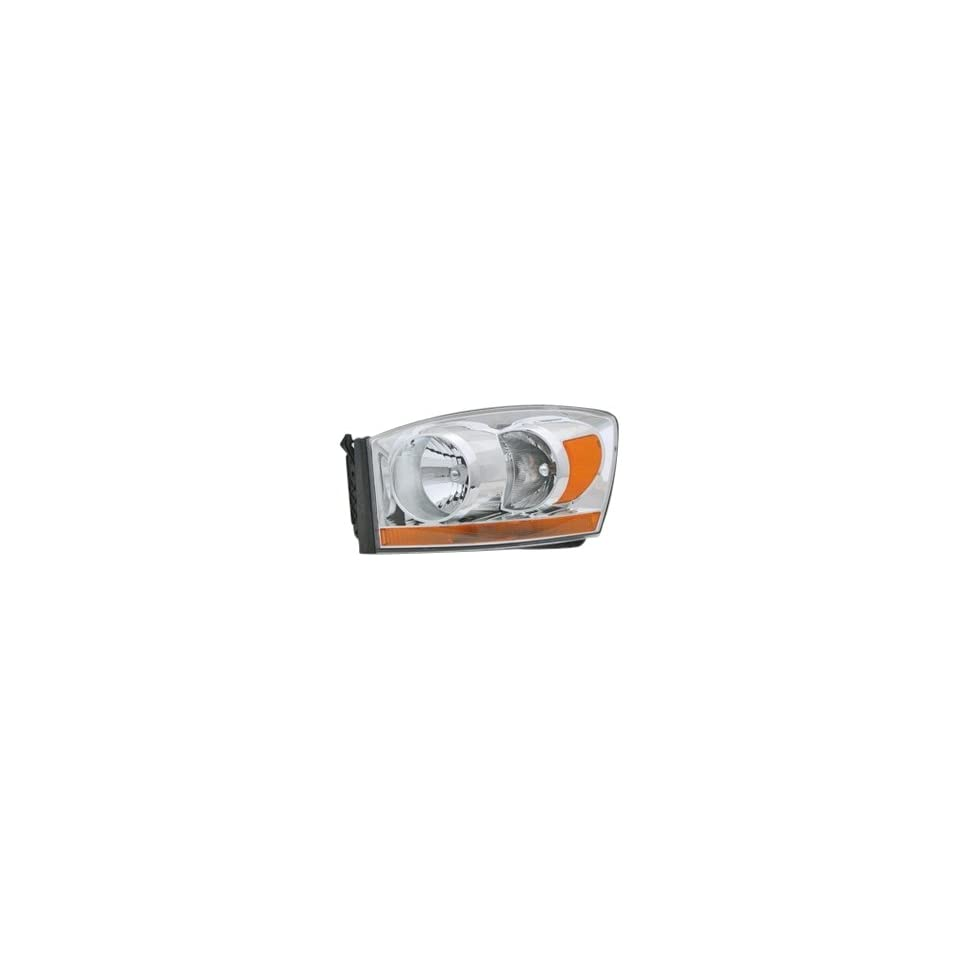 OE Replacement Dodge Pickup Driver Side Headlight Lens/Housing (Partslink Number CH2518114)