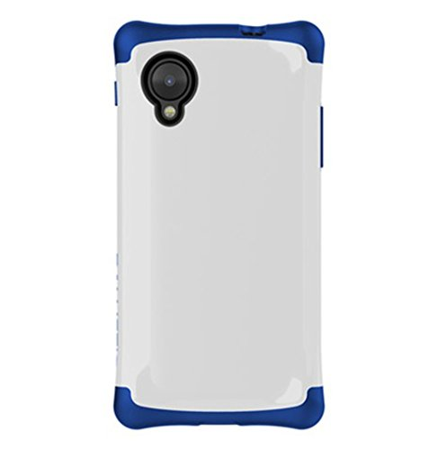 - Ballistic Aspira for Nexus 5 - Carrier Packaging - White/Imperial Blue