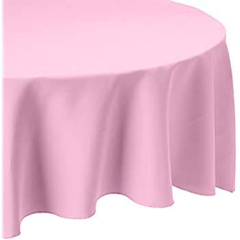 Amazon Com Linentablecloth 120 Inch Round Polyester