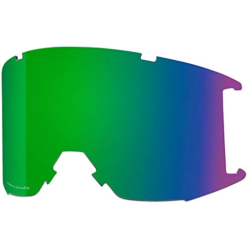 31d5808652 Smith Optics Squad XL Adult Replacement Lense Snow Goggles Accessories -  Chromapop Everyday Green Mirror