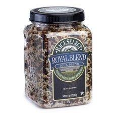 Rice Select Royal Blend Texmati White, Brown, Wild, & Red Rice 4x 21Oz by Rice Select by RiceSelect