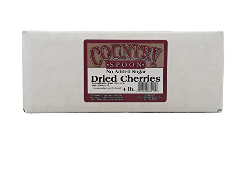 - No Sugar Added Dried Tart Montmorency Cherries (4 lb.) by Country Spoon