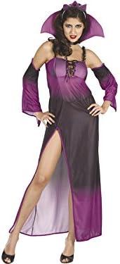 DISONIL Disfraz Reina del Mal Morado Mujer Talla L: Amazon.es ...