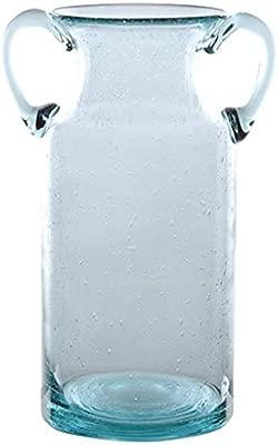 Jarrones Florero Modelado Binaural Cristal Transparente ...