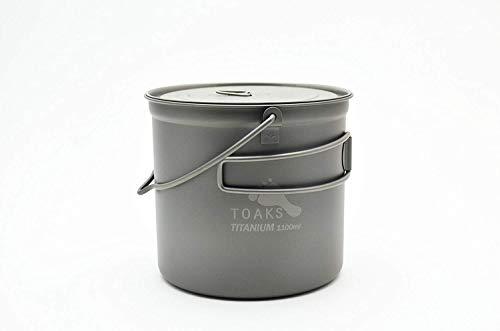 (TOAKS Titanium 1100ml Pot with Bail Handle )