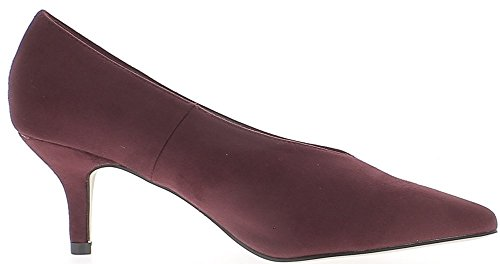 Per Cm Appuntite Bordeaux Chaussmoi 6 Tacchi Scarpe Camoscio Con Estremità I U0XnRzzq