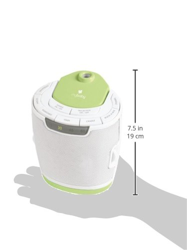 MyBaby by HoMedics: MyBaby SoundSpa Lullaby Sound Machine and Image Projector with 6 sounds and Auto-off Timer 4