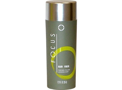 Focus Pure Organic Keratin Hair Building Fibers/hair Loss Concealer, 35 Grams/1.225 Oz. Per Bottle (107 Days Supply). 120 Days. (Black) by Focus by Focus
